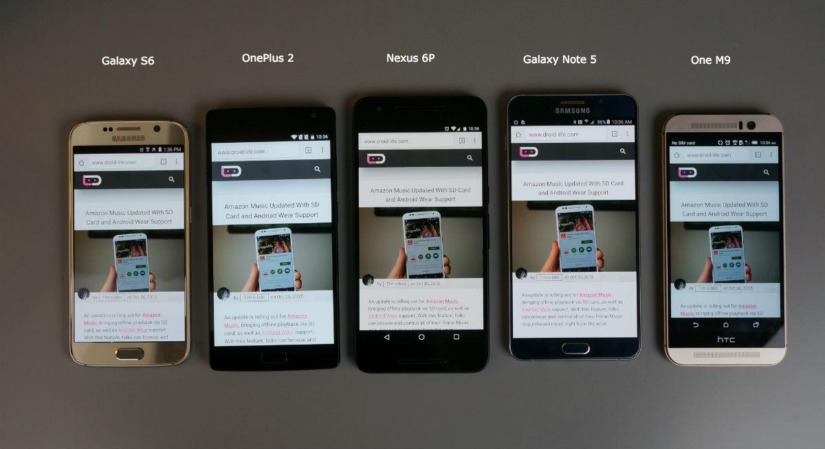 Displays Nexus 6P