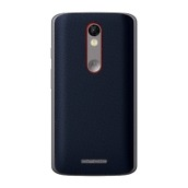 Droid Turbo 2 Blue Nylon Back