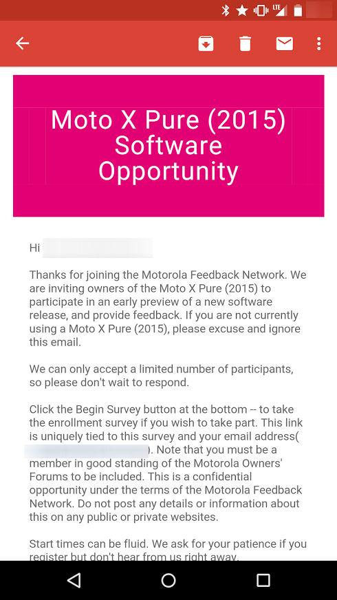 Moto X Pure Edition Soak