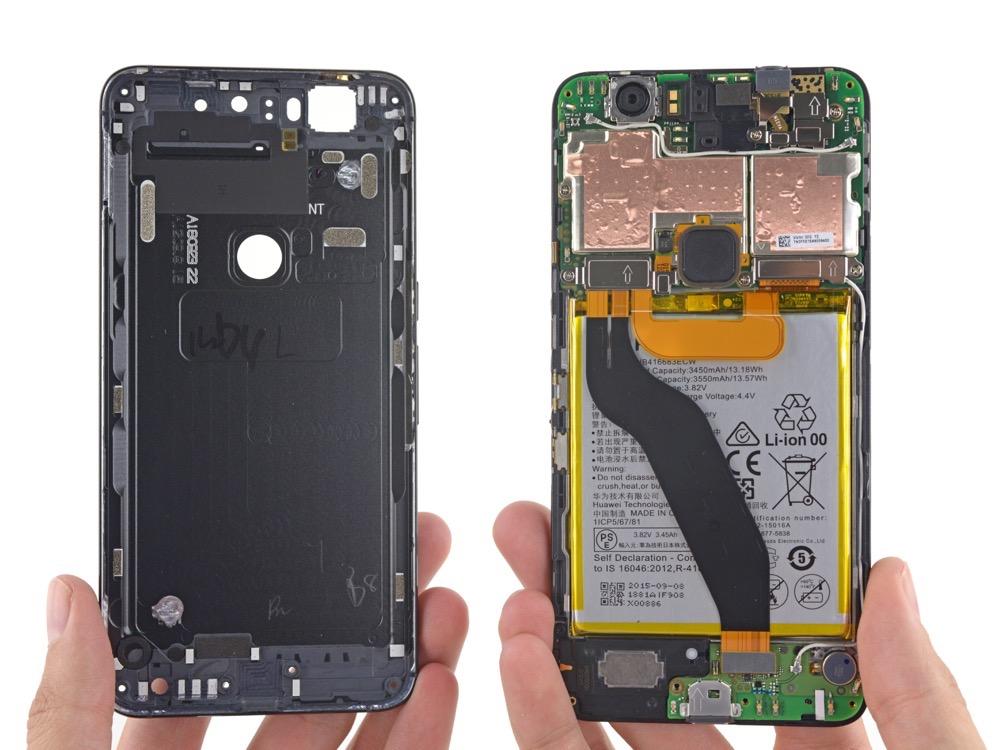 Nexus 6p Goes Through Teardown Treatment Innards