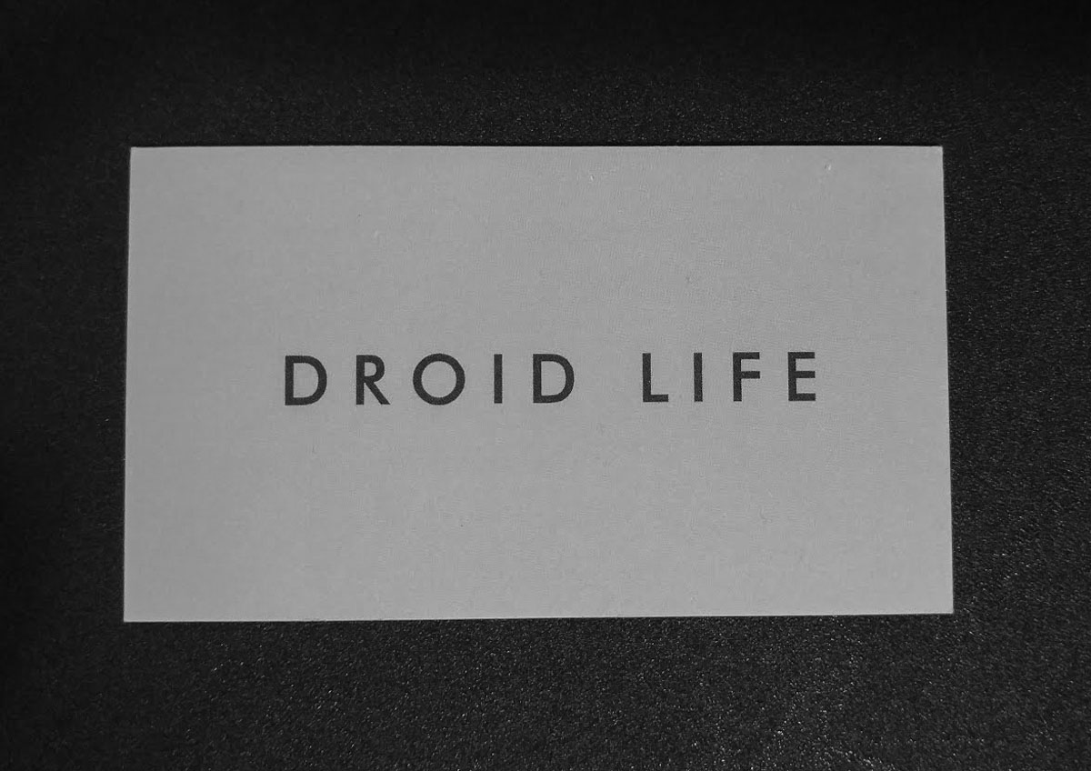 droid life card