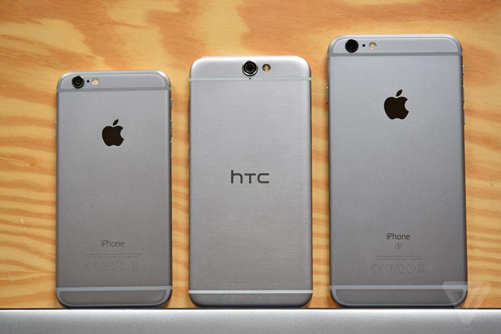 htc one a9 iphone clone