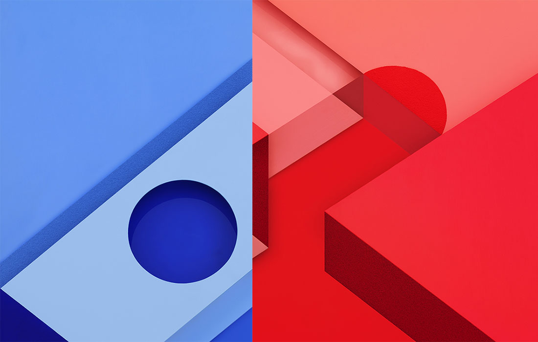 Google Shares Two Exclusive Material Design Wallpapers You Havent
