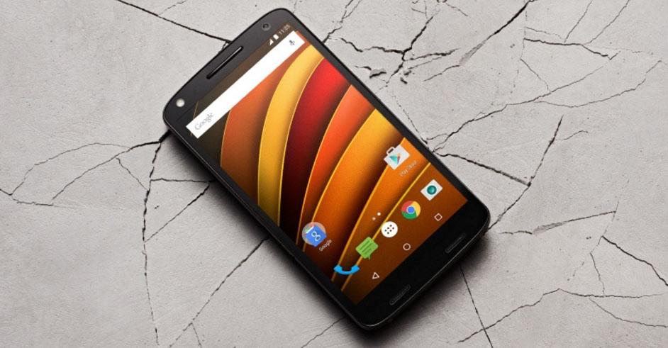 moto x force front