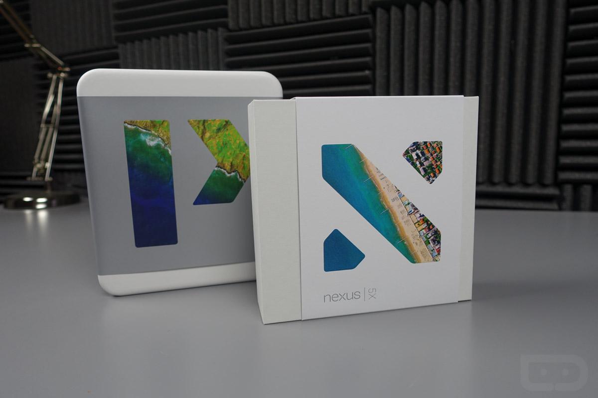 nexus 6p nexus 5x unboxing