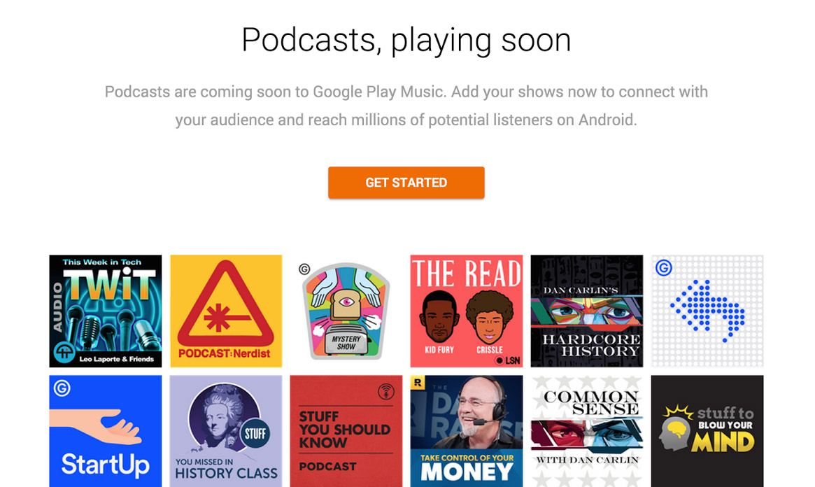 podcasts google play