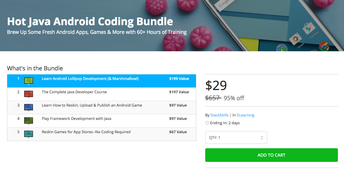 hot java coding deal