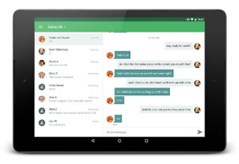 pushbullet tablet sms