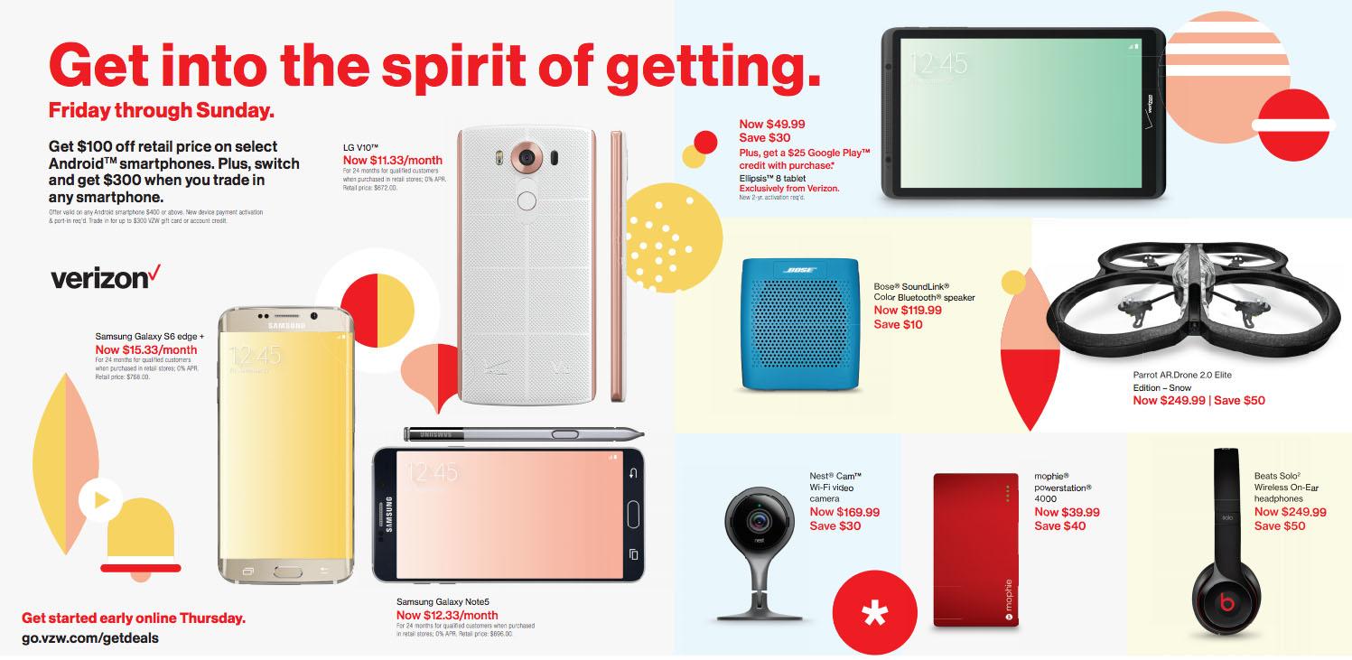 Verizon Black Friday Deals 2015