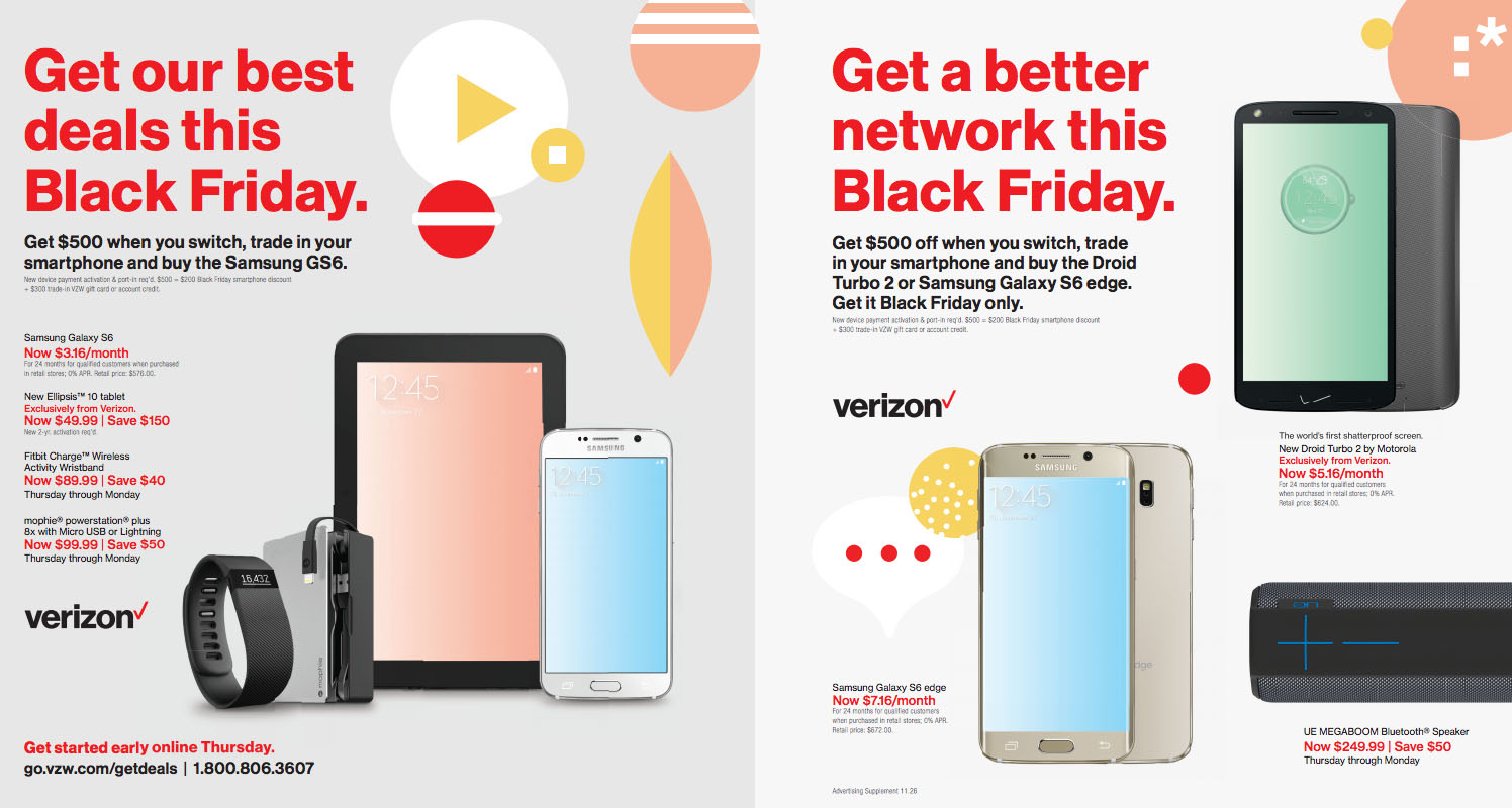Verizon Black Friday Deals 2015