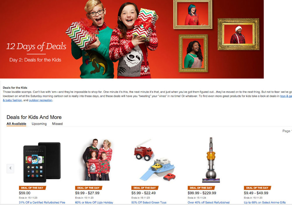 Amazon's 12 Days of Deals Can Save You Big This Holiday Season