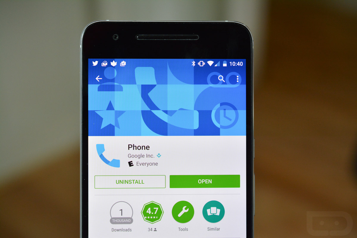 Google's Contacts and Phone Apps Arrive on Google Play (Updated ...