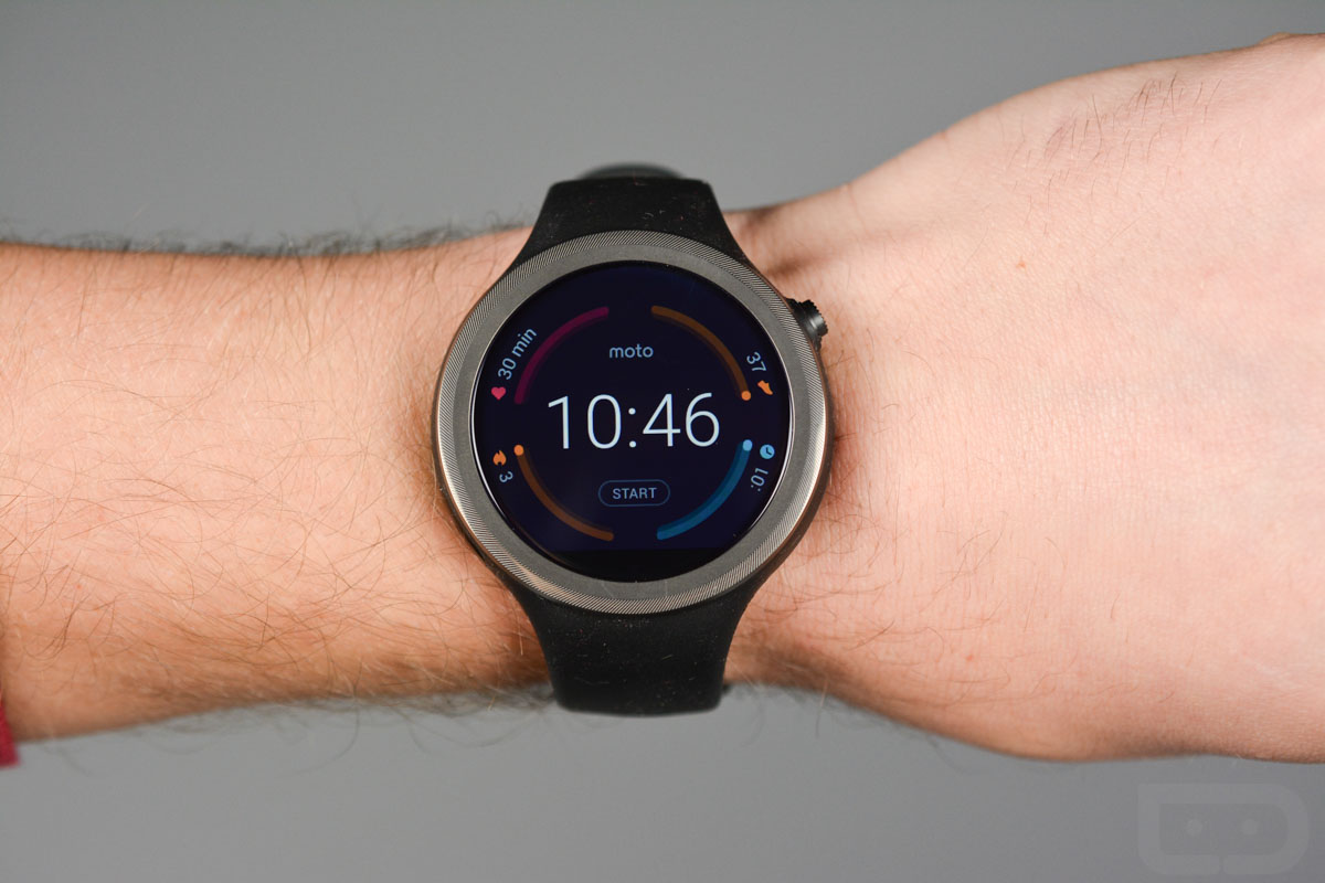 Moto 360 Sport Available Now For 299 From Motorola