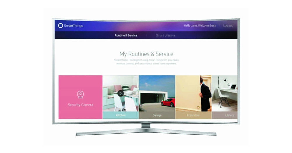 2016 samsung smart tvs will be smartthings hubs for your. Black Bedroom Furniture Sets. Home Design Ideas