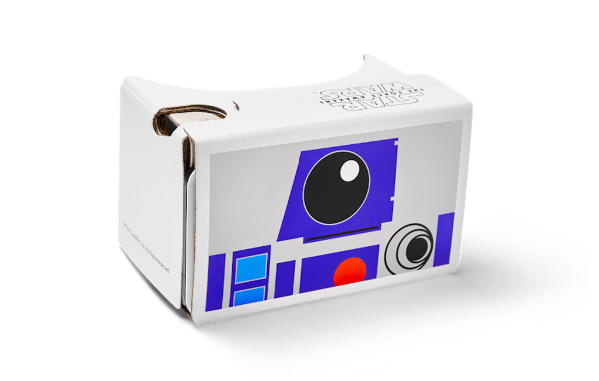 Google Cardboard awakens the force with Star Wars VR app ...