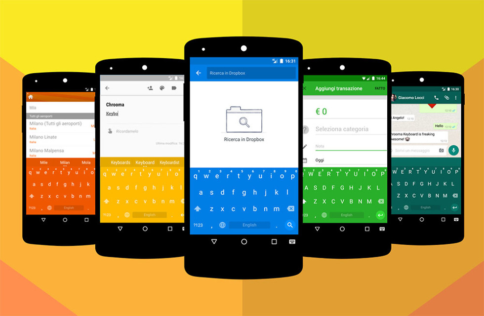chrooma keyboard android