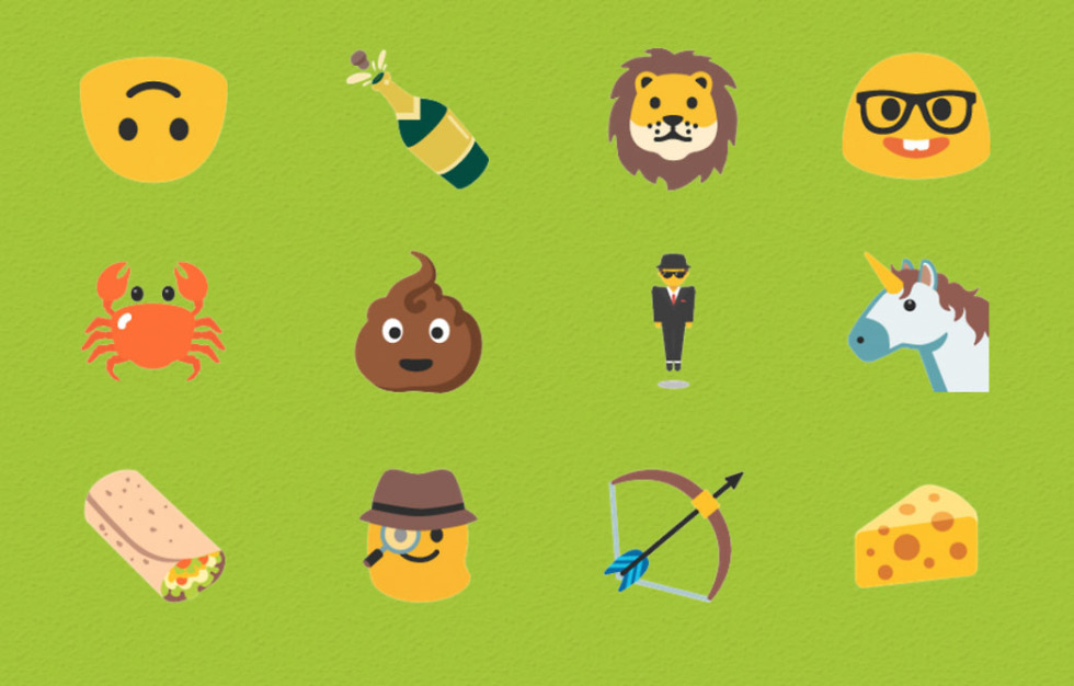 new emoji android