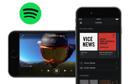 spotify android podcasts video