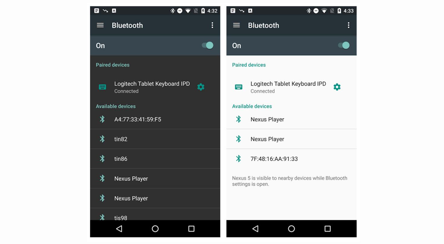 android n settings menu