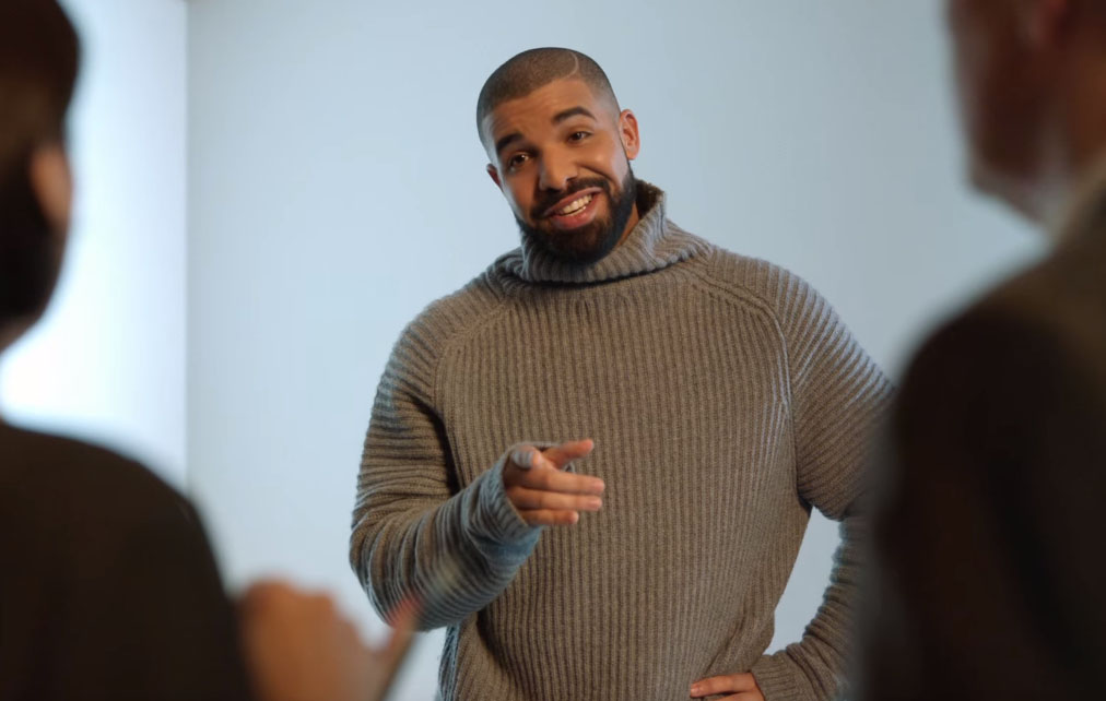 drake hotline bling commercial
