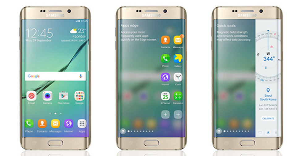 galaxy s6 edge display features