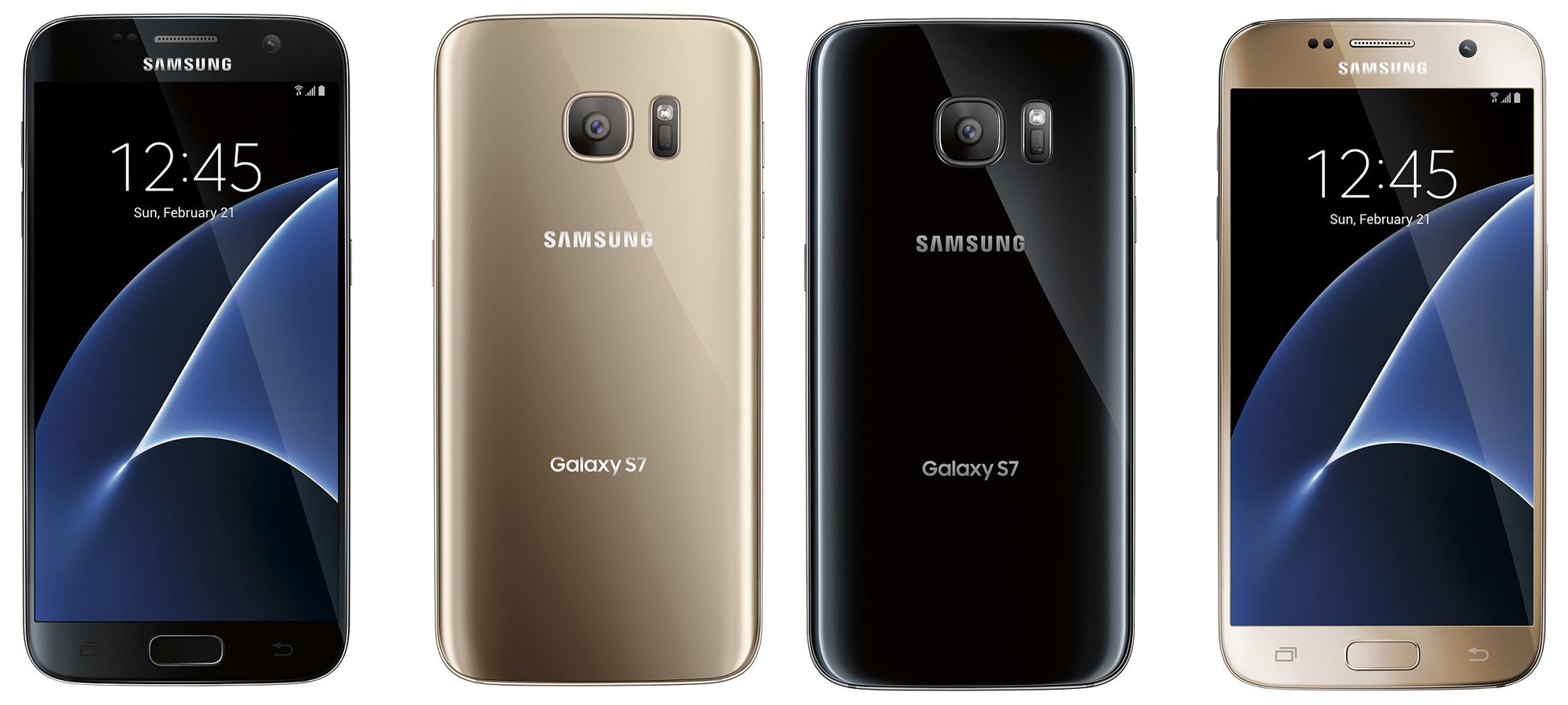 galaxy s7 black gold