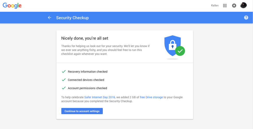 google security checkup free