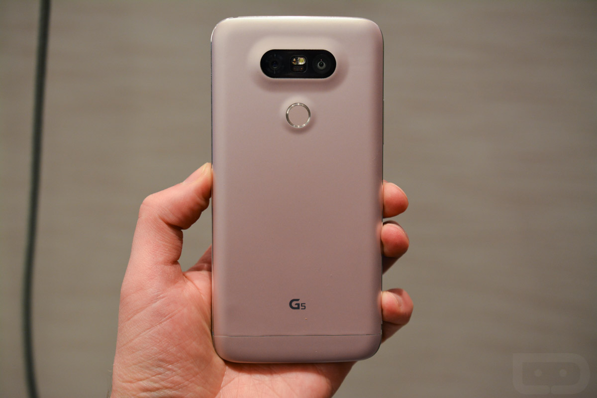 LG G5 is Official With Modular Metal Body, 5 3-Inch QHD