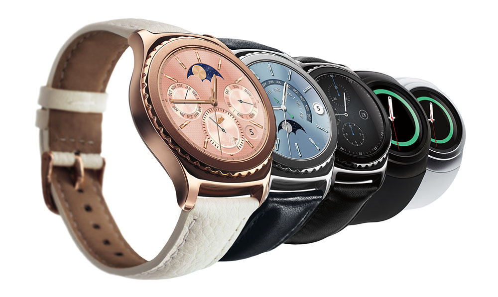 samsung gear s2 classic in rose gold and platinum arrive