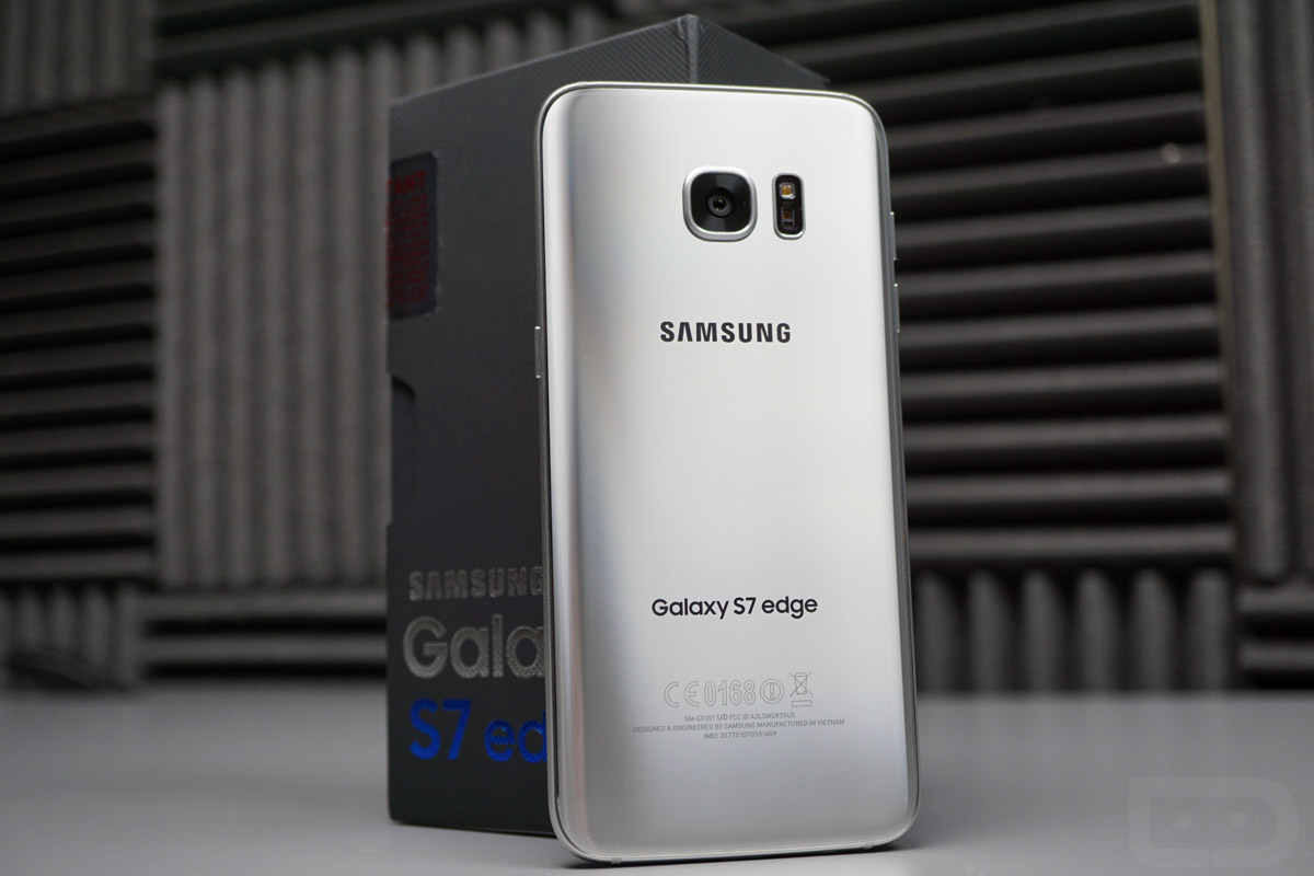 GALAXY S7 EDGE unboxing