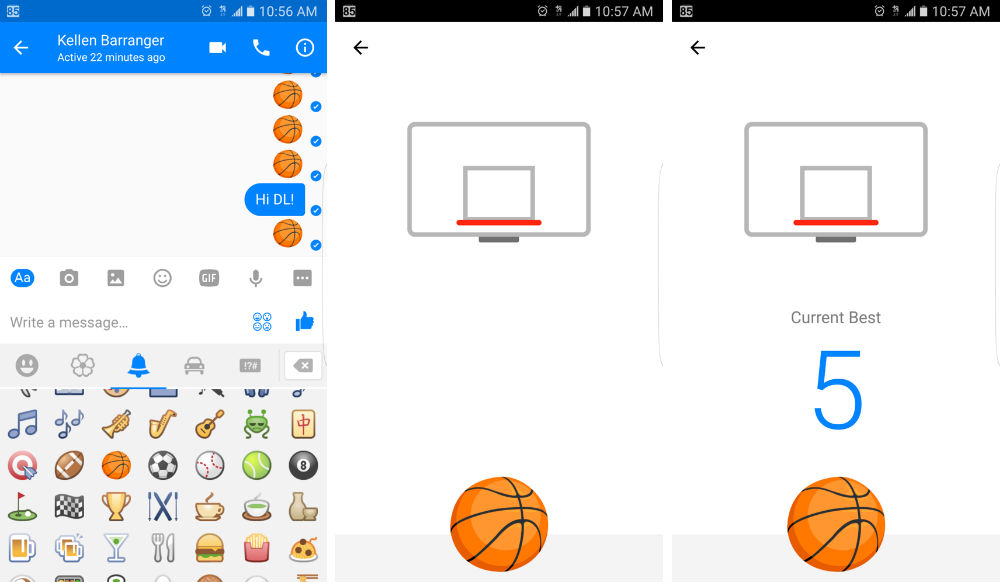 how to play facebook messenger games on android