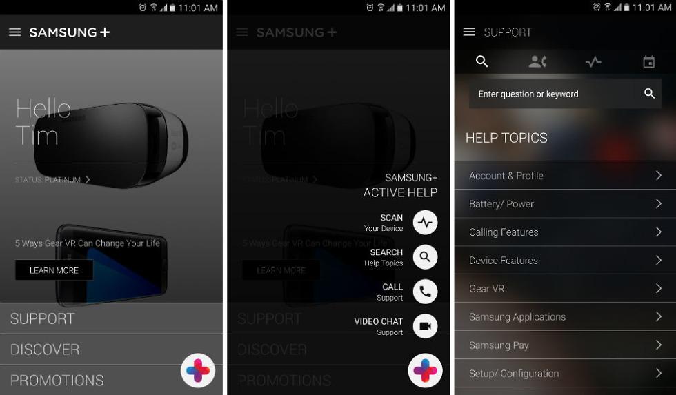 Samsung Updates Samsung+ App for Superb Customer Service