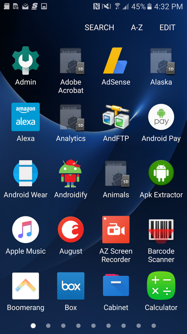 galaxy s7 apps to sd