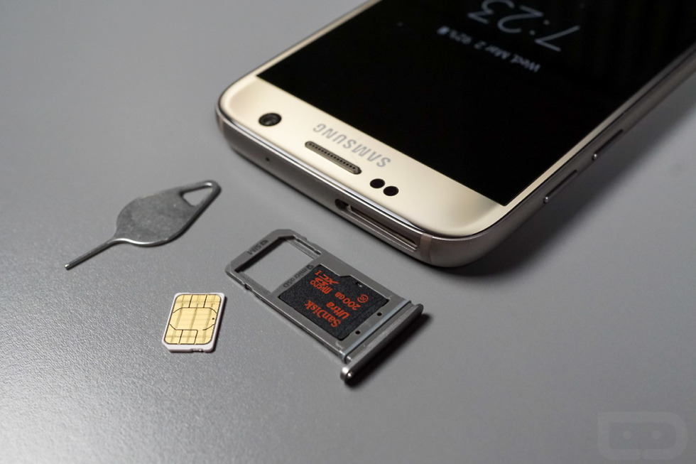 Samsung Galaxy S7 / S7 edge - Remove SIM Card