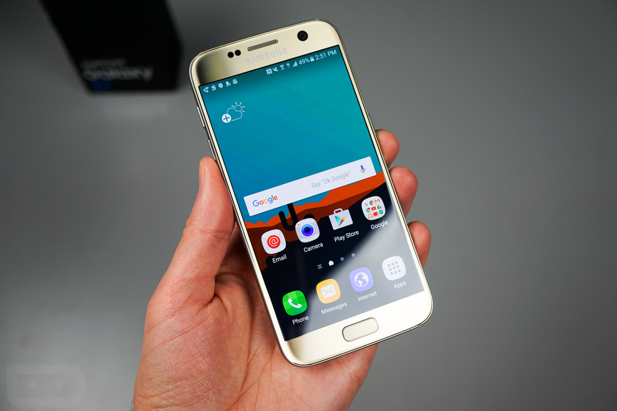 Galaxy S7 Verschlüsseln