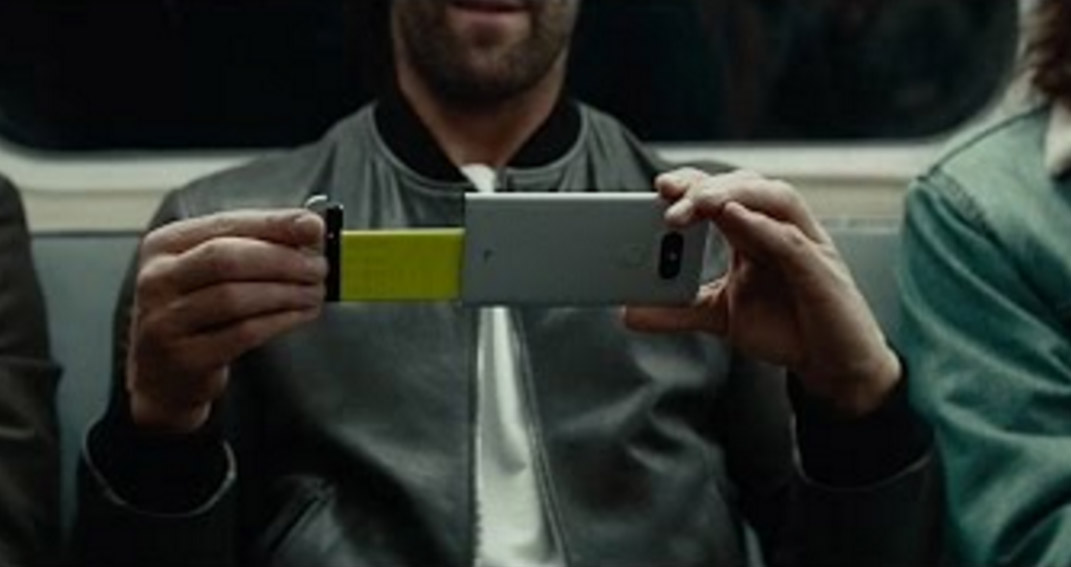 LG G5 Protagonist of the First Commercial
