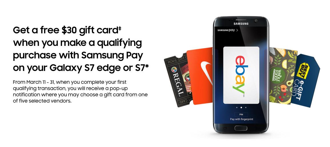 samsung pay deal