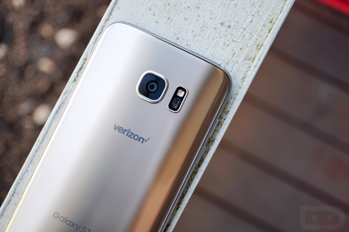 verizon galaxy s7 edge nougat