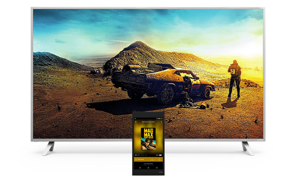 vizio p-series google cast