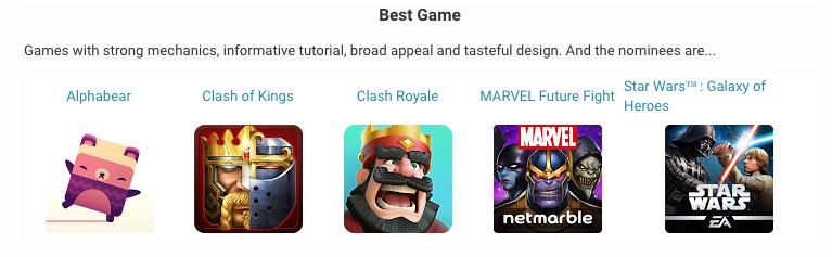 Google Play Awards 4