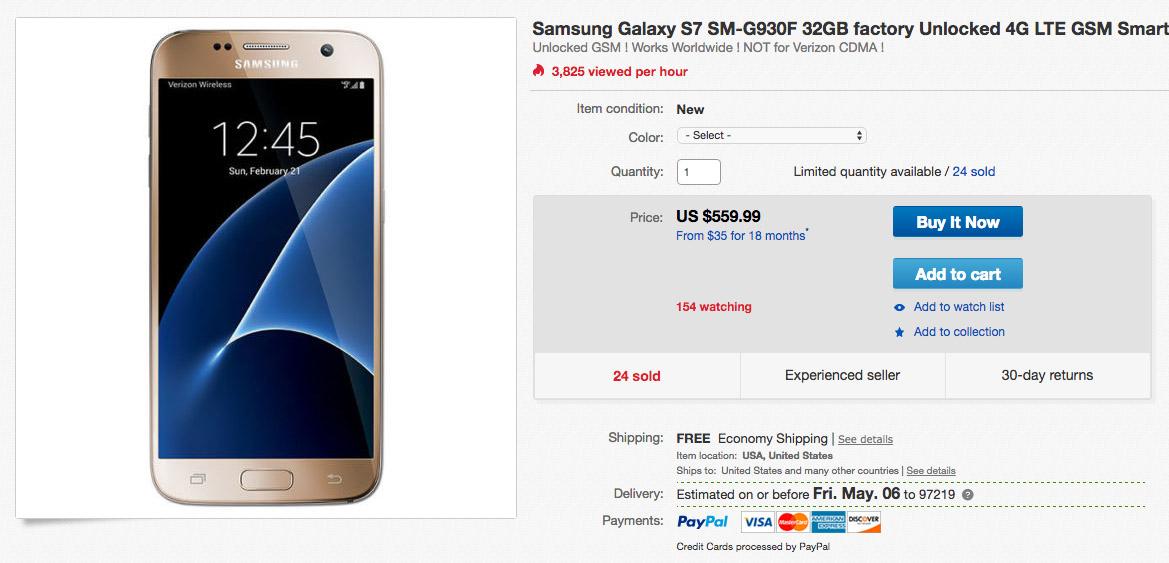 galaxy s7 deal