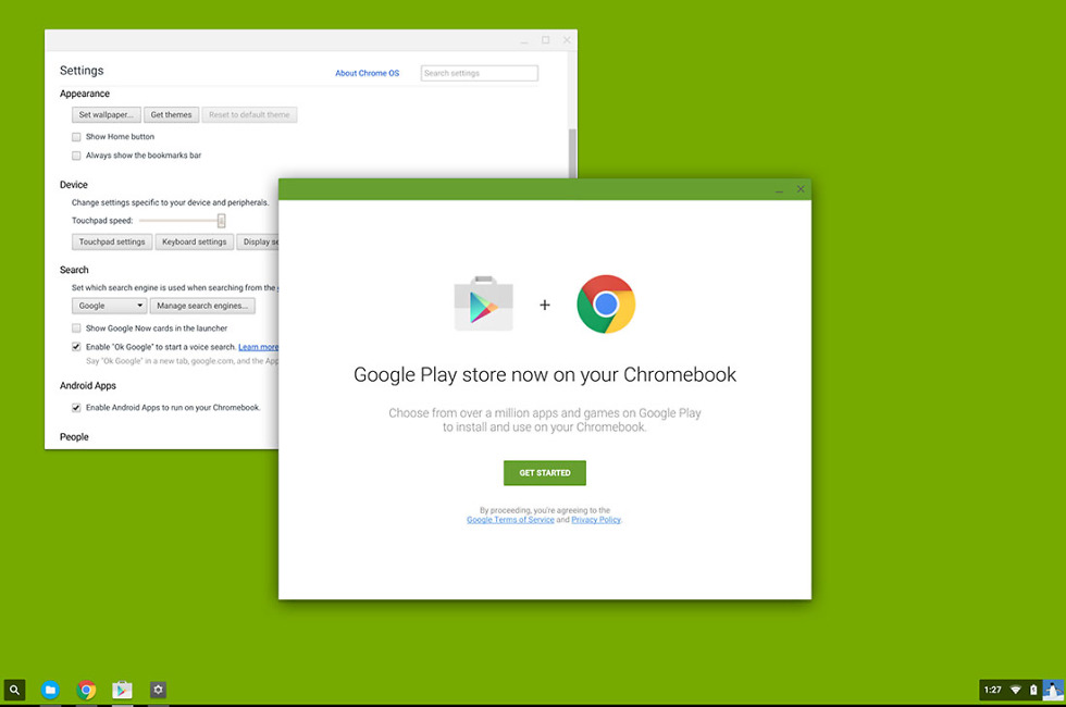 google play chromebook apps