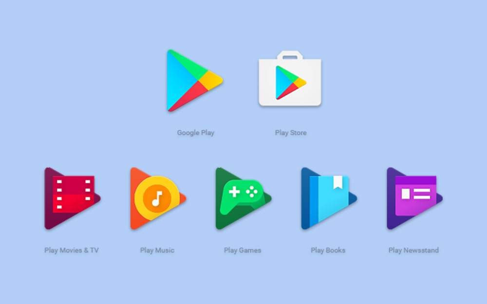 Google play app icons are getting updated for a more Play app