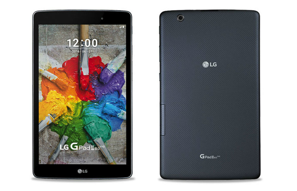LG Unveils G Pad III 8.0, Features Full HD IPS Display and ...