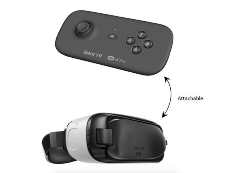 Samsung working on dedicated controller for gear vr for Samsung wand