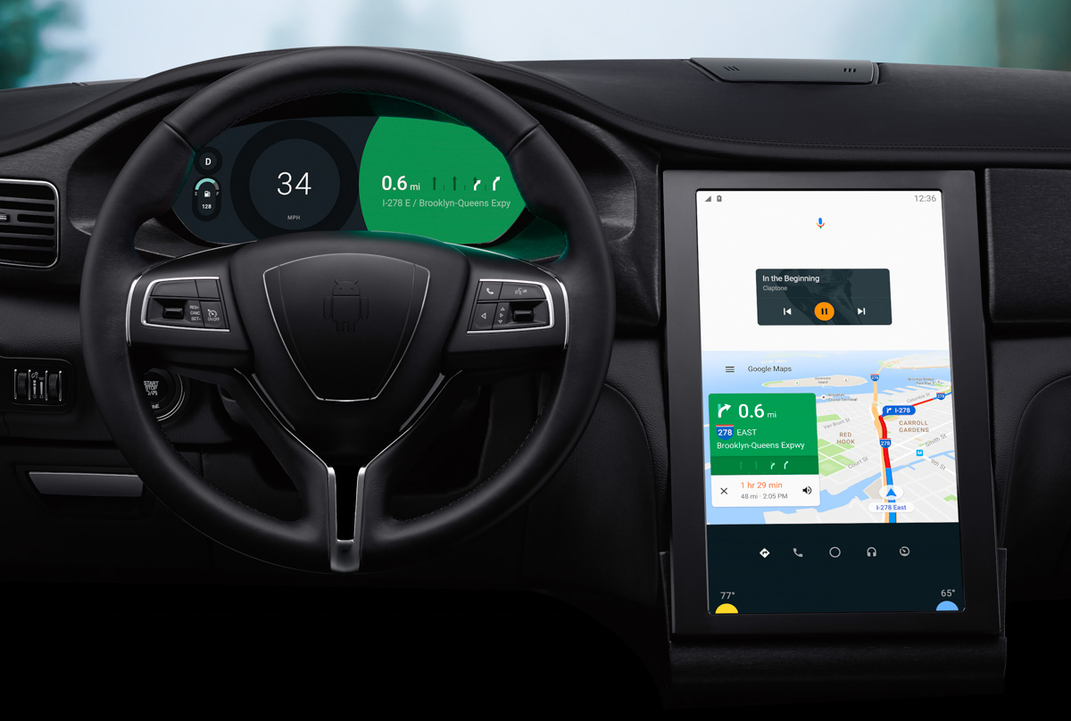 Android Auto at I/O: Coming Soon to Your Phone, Plus Waze