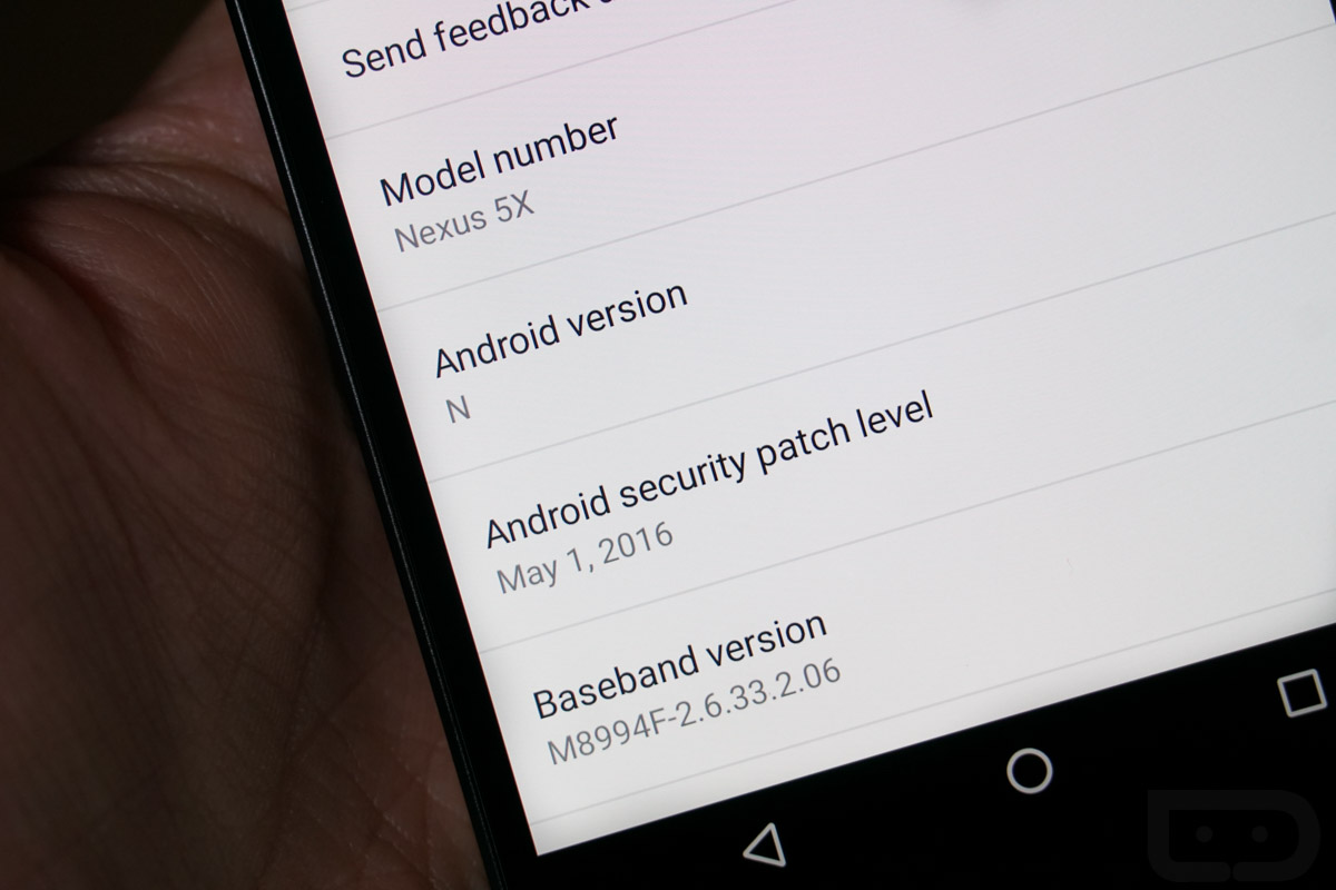 android update security patch