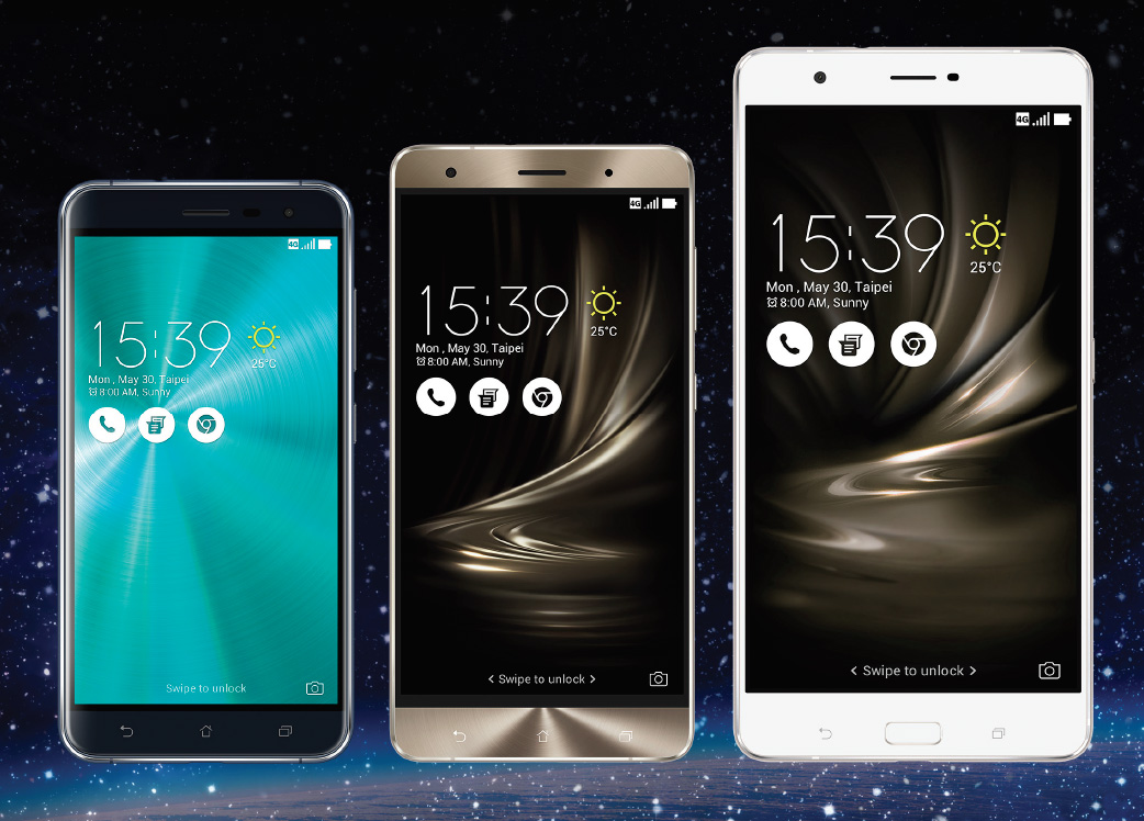 ASUS Introduces Three New, Affordable Giant ZenFone 3 ...