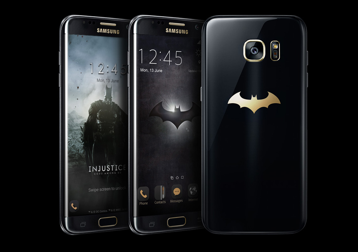 Here is the Batman Galaxy S7 Edge, and OMG It's Hot ...