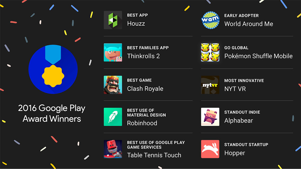 google play awards winners